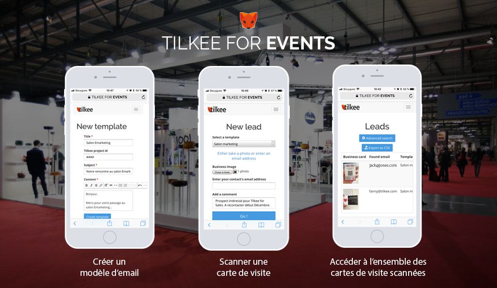 Tilkee For Events La Solution Pour Gestion De Vos Leads En Salon