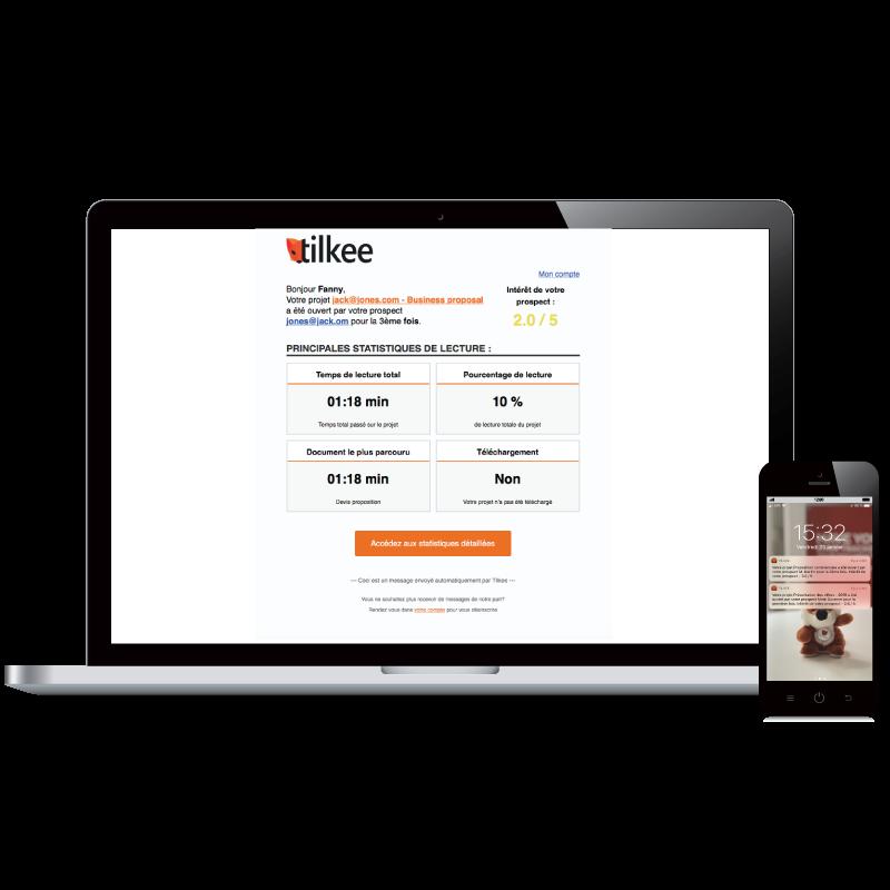 Tilkee Data Driven Sales Platform